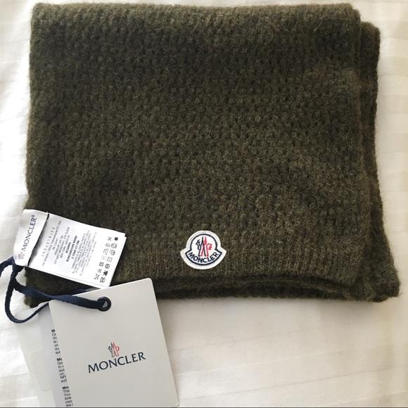 Moncler Other - Moncler Sciarpa Scarf - Alpaca/Nylon/Wool